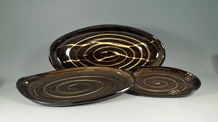 Olive Line Platter
