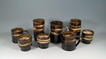 Mugs, Tumblers and Wine Cups
