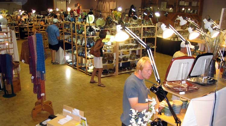 High Country Pottery Sale Indoors