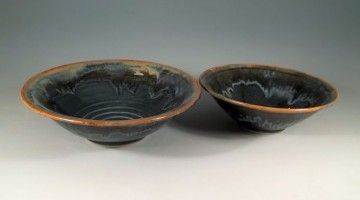 Shuswap Blue Salad Bowls
