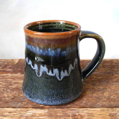 Mug Shuswap Blue short