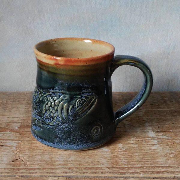 Salmon Mug short