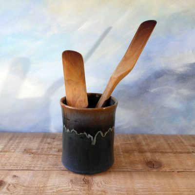 Utensil Jar Shuswap Blue