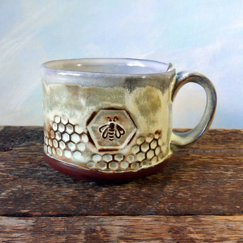 Bee Mug by Sheryl Willson