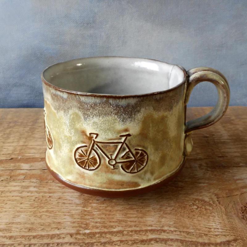 Bike Mug - Butter