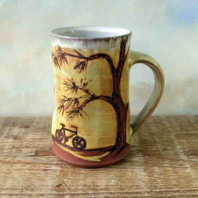 Bike Mug - Pine Trails
