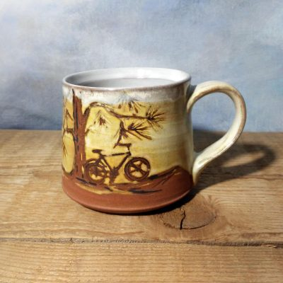 Bike Mug - Pine Trails - short