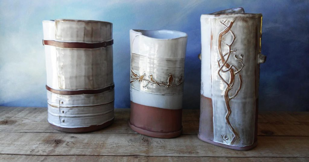 Vases by Sheryl Willson