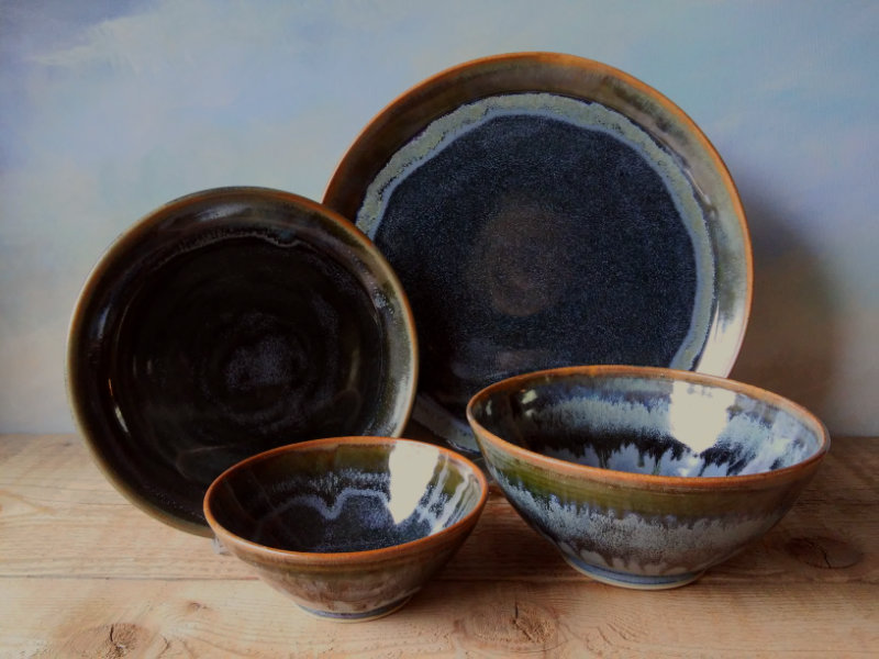Shuswap-Blue-Dinnerware