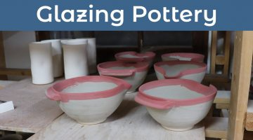Video – Glazing Pottery