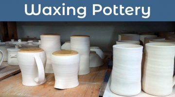 Video – Waxing Pottery